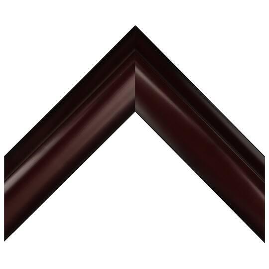 Small Two Tone Mahogany Custom Frame