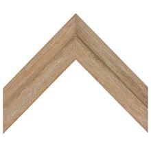 Wirebrushed Barnwood Beige Custom Frame