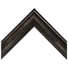 Medium Black With Silver Rub Custom Frame