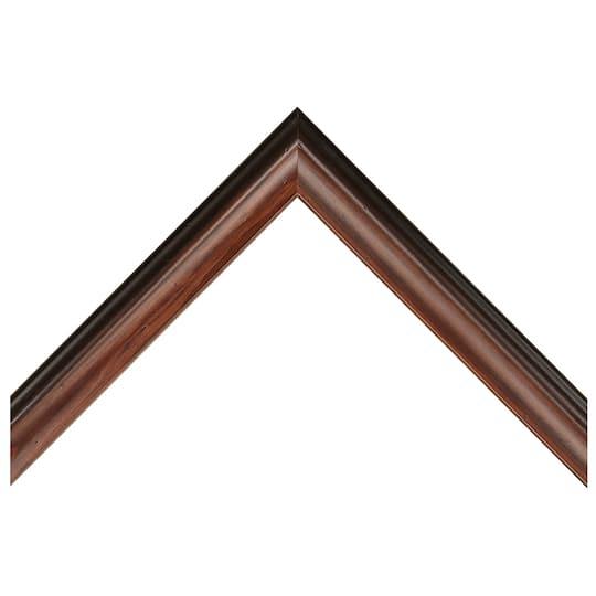 Mahogany With Dark Edge Custom Frame