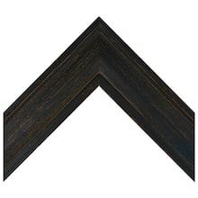 Rustic Black Barnwood Custom Frame