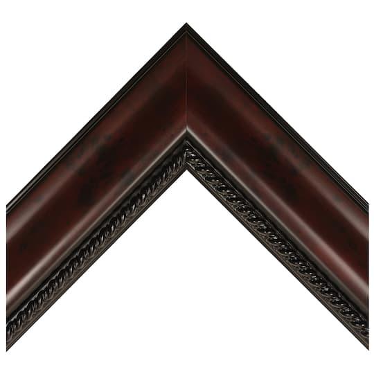 Satin Mahogany With Compo Lip Custom Frame