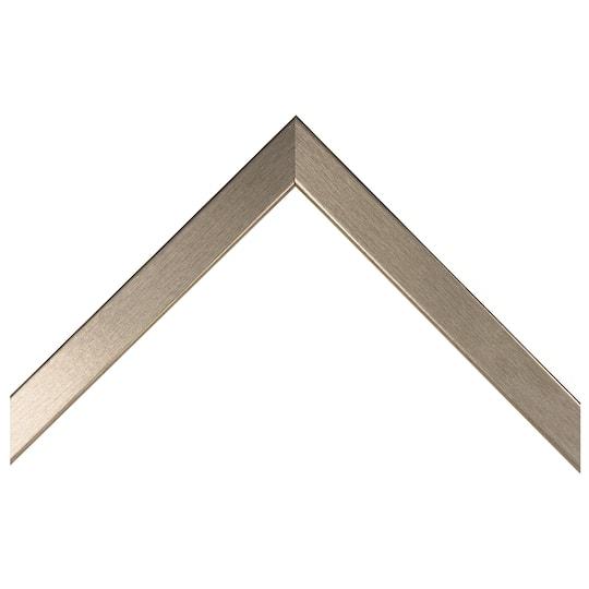 Wire Brushed Gunmetal Wrap Custom Frame