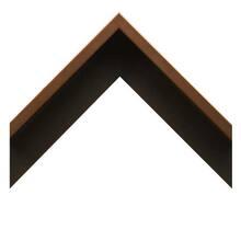 Brushed Bronze Gallery Canvas Floater Custom Frame