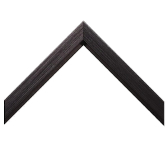 Brushed Black With Beveled Lip Custom Frame