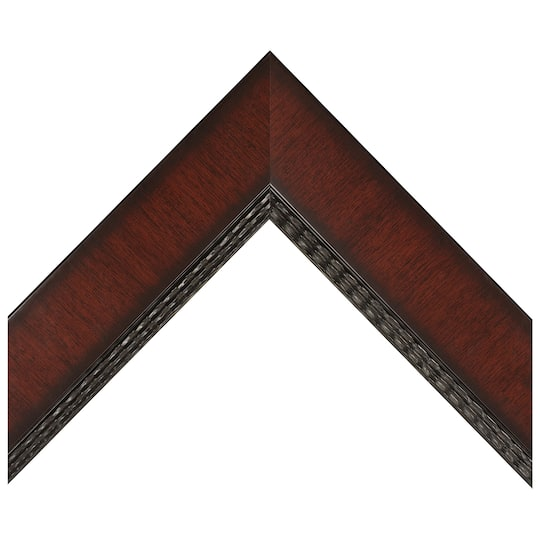 Mahogany Dutch Lines Custom Frame