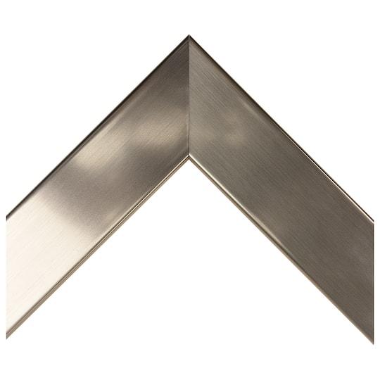 Brushed Chrome Custom Frame