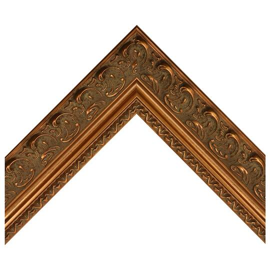 Moroccan Antique Gold Custom Frame