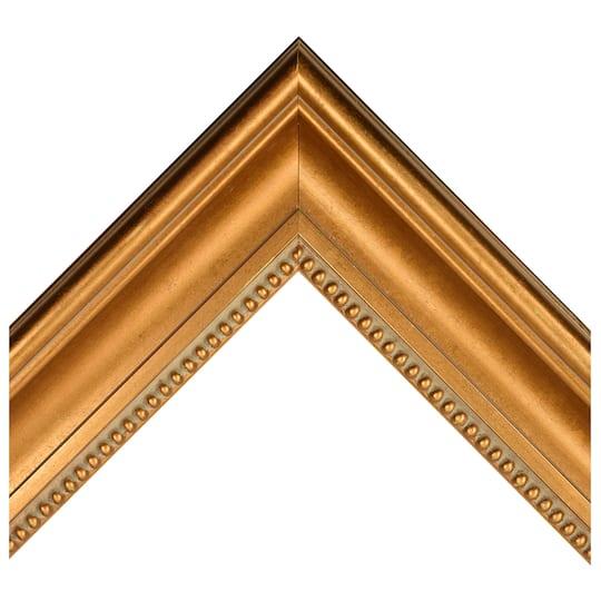 Broken Gold And Grey Lines Custom Frame