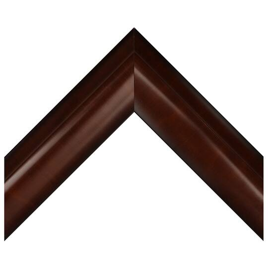 Small Two Tone Hickory Custom Frame