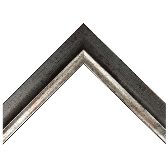 Mottled Gold With Silver Lip Custom Frame