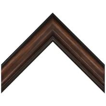 Espresso Pine Swan Custom Frame