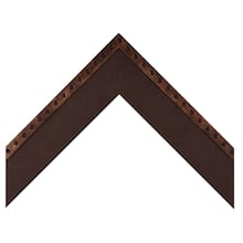 Bronze Rivets With Brown Leather Custom Frame
