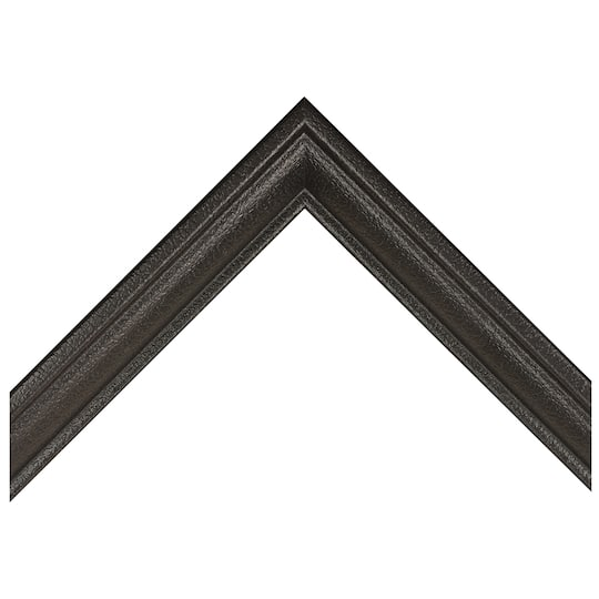 Black Crackle Shadow Box Custom Frame