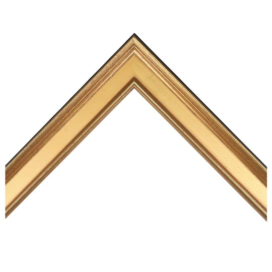 Small Plein Air Gold Custom Frame