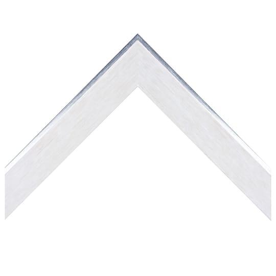 Natural White Finish With Foil Custom Frame