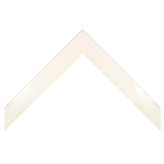 Shadow Box In Matte White Custom Frame