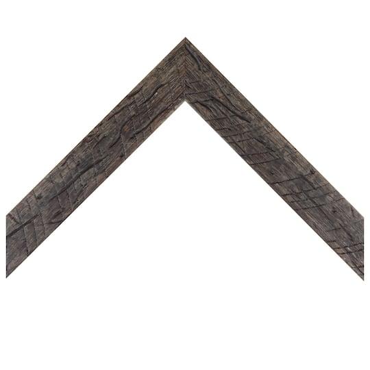 Flat Distressed Barnwood Custom Frame