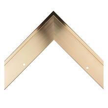Amber Metal Canvas Floater Custom Frame
