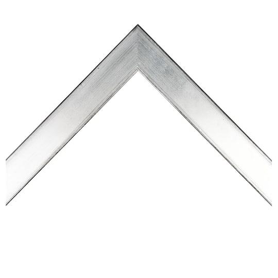 Flat Silver Custom Frame