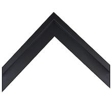 Small Black Canvas Floater Custom Frame