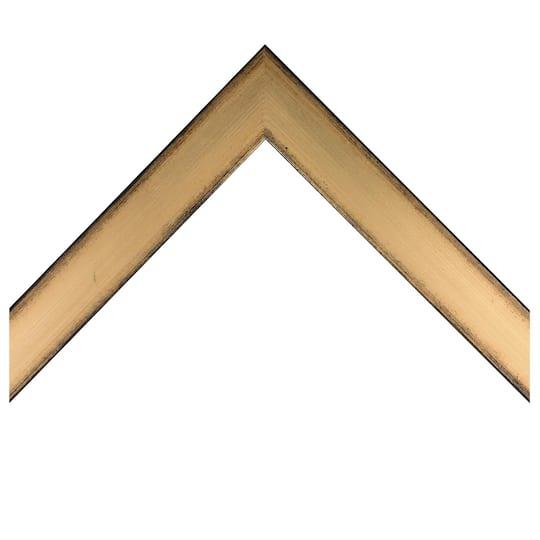Flat Gold Custom Frame