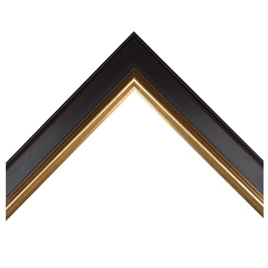 Black W/Gold Lip Custom Frame