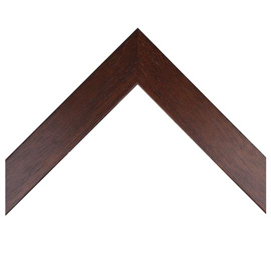 Flat Warm Mahogany Custom Frame