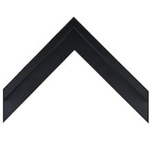 Large Black Canvas Floater Custom Frame
