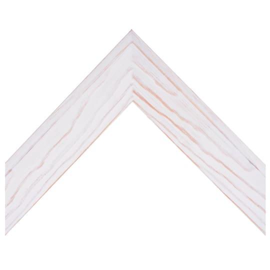 White Washed Slant Custom Frame