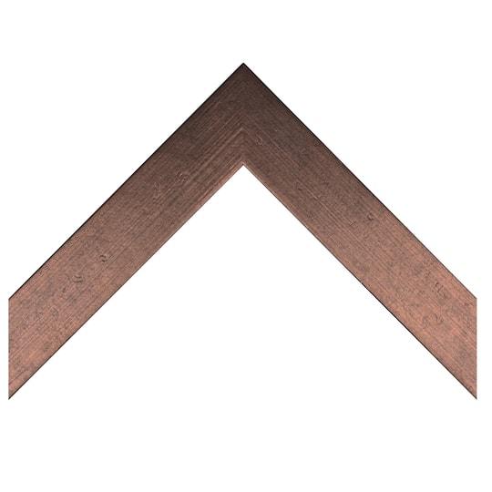 Textured Flat Copper Custom Frame